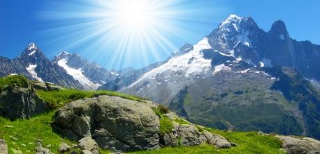 dovolená, hory
